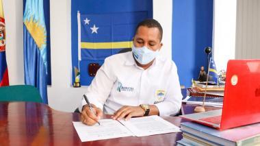 Riohacha firmó memorando de entendimiento con Curazao
