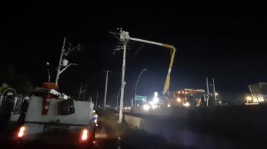 Avería en cable de potencia afecta servicio de energía a Palermo