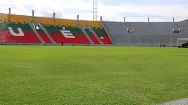 El estadio Manuel Murillo Toro, de Ibagué.