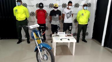 Capturan a 'Los Pepes' por tráfico de estupefacientes en El Banco