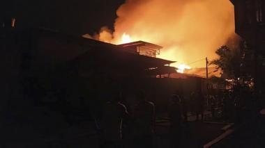 En video   Dos muertos y 73 casas incendiadas en Riosucio, Chocó