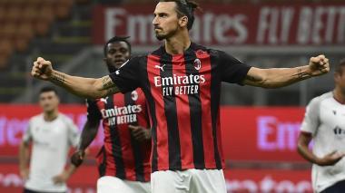 Ibrahimovic ha ayudado a sus compañeros del Milan a ganar juego, confianza y resultados.