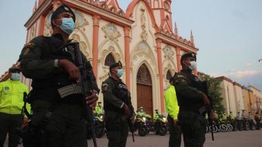 600 policías vigilarán las fiestas en Barranquilla