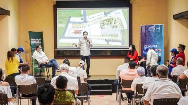 Definen plan de obras de reconstrucción de la Plaza de Soledad