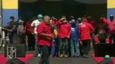 """""""El que no vota, no come"""": la amenaza de Diosdado Cabello a venezolanos"""