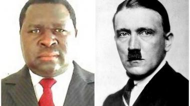 """""""No tengo planes de dominación mundial"""", Adolf Hitler de Namibia"""