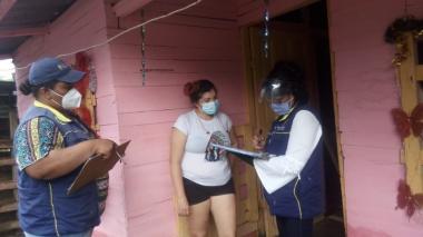 Intensas lluvias causan inundaciones leves en 6 barrios de Cartagena