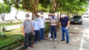 Alumbrado Público de Cartagena se ha venido reuniendo con las comunidades beneficiadas con el plan de expansión. La imagen corresponde al paseo peatonal de Castillogrande.