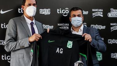 Guimaraes llega a Atlético Nacional con muchas ambiciones