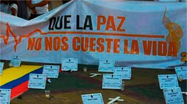 Tres departamentos de la Costa, los más violentos para líderes sociales