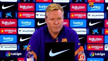 Koeman afirmó que el Barcelona siempre tiene que intentar tener los mejores jugadores.