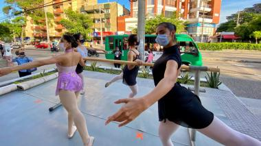 Artistas se manifestaron con 'El escenario es la calle'