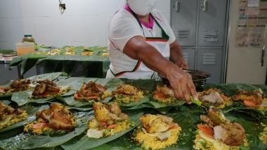 Corsina Llanos es matrona del pastel en Pital de Megua desde hace 15 años.
