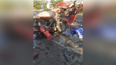 Una víctima de accidente en Cesar era de Atlántico