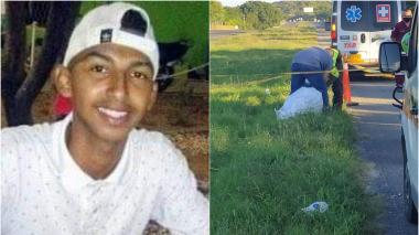 Una moto lo atropelló, lo mató y se voló