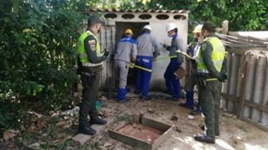 Detectan predios industriales en un barrio eléctricamente subnormal en Galapa