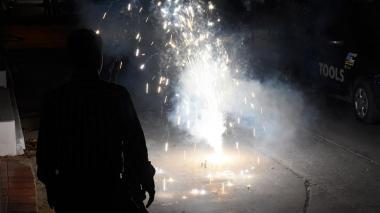 Menor resultó quemado con pólvora en Puerto