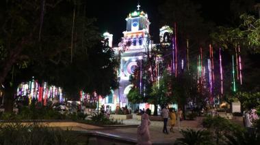 Noche de velitas con luces apagadas en Montería