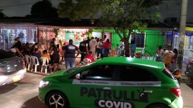 Más de 370 comparendos y 172 'Covid-fiestas' en primer festivo de diciembre