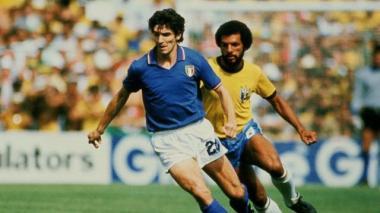 Real Madrid rememora a Paolo Rossi campeón mundial en el Santiago Bernabéu