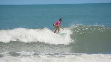 Francesca Arévalo, barranquillera de diez años, es campeona sudamericana de su categoría.