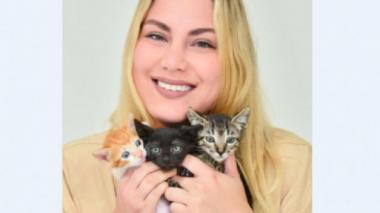Cuatro perros y 12 gatos mueven su cola gracias a Melissa Ramírez