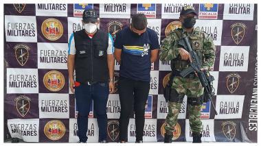 Gaula Militar Caribe captura extorsionista que habría recibido $15 millones