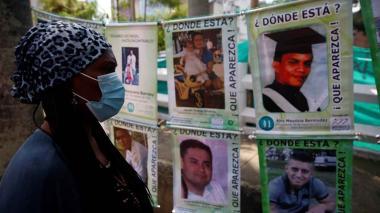 Familiares no pierden la fe de encontrar a los desaparecidos de Colombia