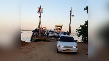 Se reactivó servicio del ferry entre Salamina y el Atlántico