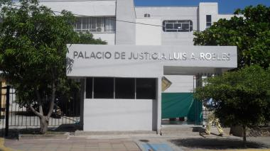 Palacio de Justicia de Riohacha.