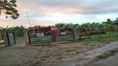 Hallan conexión ilegal en una finca de Aracataca
