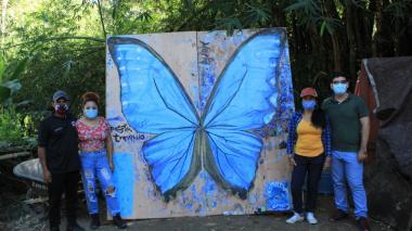 Santa Marta inaugura su primer mariposario