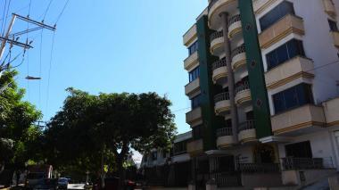 Conjunto residencial donde ocurrió el hurto.