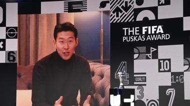 Heung-Min Son se queda con el Premio Puskas por su gol al Burnley