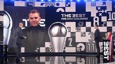 Manuel Neuer ganó el premio The Best al mejor guardameta de 2020