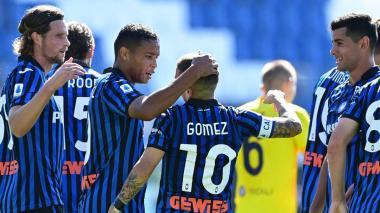 'Papu' Gómez, fuera de la lista del Atalanta, en la que sí están Duván y Muriel