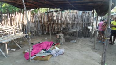 Asesinan habitante de la calle en la Zona Bananera