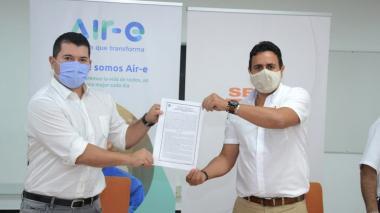 Air-e y SENA firman convenio para la generación de empleo