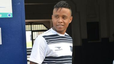 Jhon Freddy Pajoy Ortiz llegó en la mañana de este martes a Barranquilla.