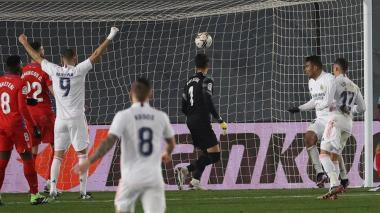 El equipo de Zidane se impuso 2-o en el estadio Alfredo Di Stefano.