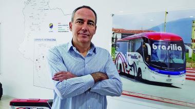 Ángel Conde Álvarez, Gerente General Expreso Brasilia.