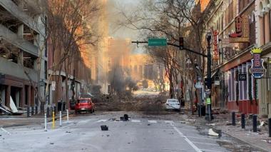 El FBI investiga más de 500 pistas relacionadas con la explosión en Nashville