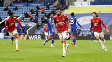 Leicester y Manchester United empatan en un duelo lleno de emociones
