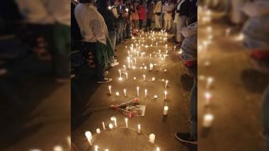 Rechazo a caso de adolescente muerto en operativo policial en Bogotá