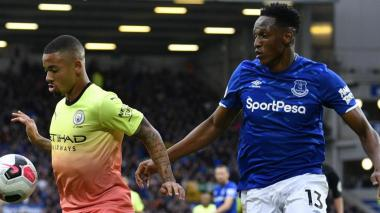 Un brote de Covid-19 pospone el partido entre Everton y Manchester City