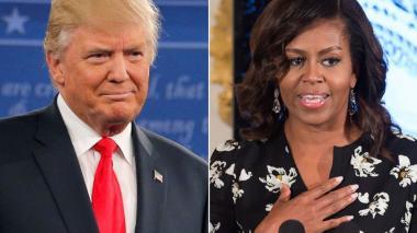 Trump y Michelle Obama, hombre y mujer más admirados en EEUU