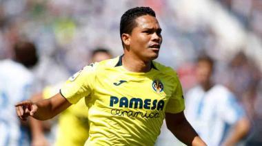 Carlos Bacca regresó a las canchas en la derrota de Villarreal ante Sevilla