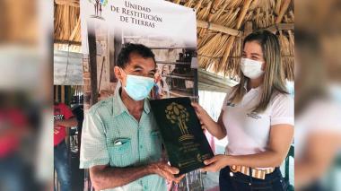 Familias de Morroa reciben sentencia de restitución de tierras