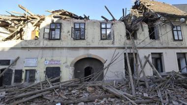 Al menos seis muertos en terremoto que sacudió Croacia