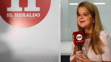 """""""Atlántico será un punto de recepción de vacunas"""": gobernadora Noguera"""